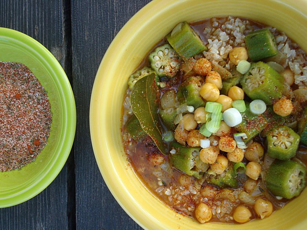 Vegan Gumbo - Fork & Beans