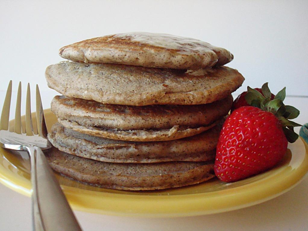 Vegan Buckwheat Pancakes - Fork & Beans