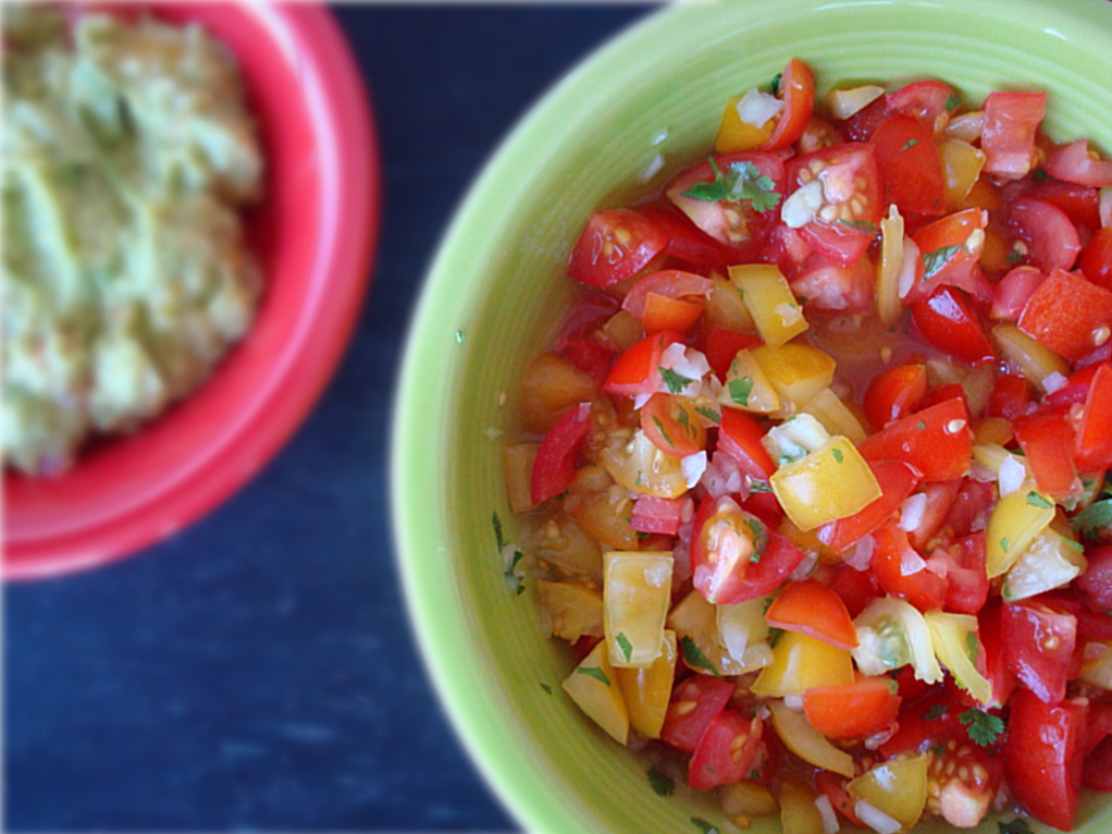 Quick and Easy Pico de Gallo - Fork & Beans