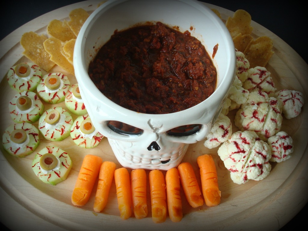 Creepy Crudites Platter