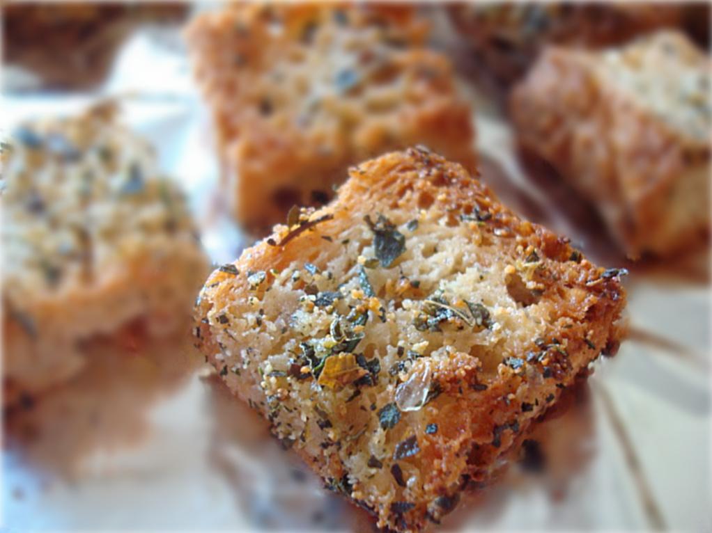 Gluten-Free Italian Seasoned Croutons Recipe