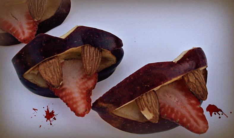 Vampire Apple Bites