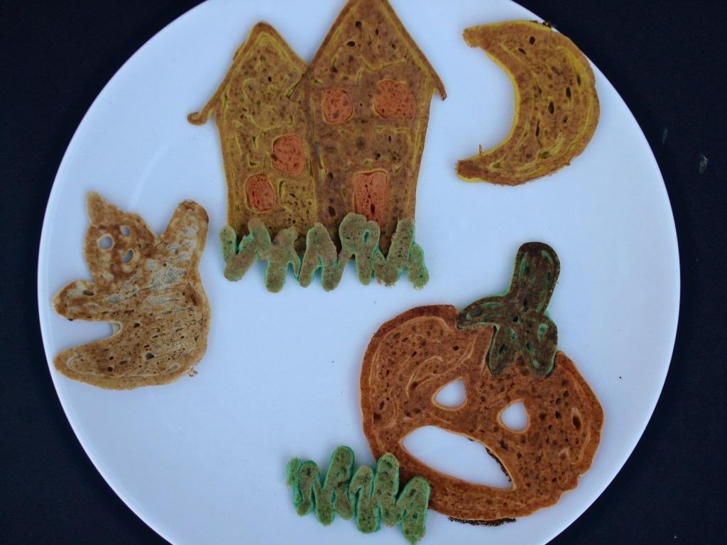 Jack-O-Lantern Pancakes