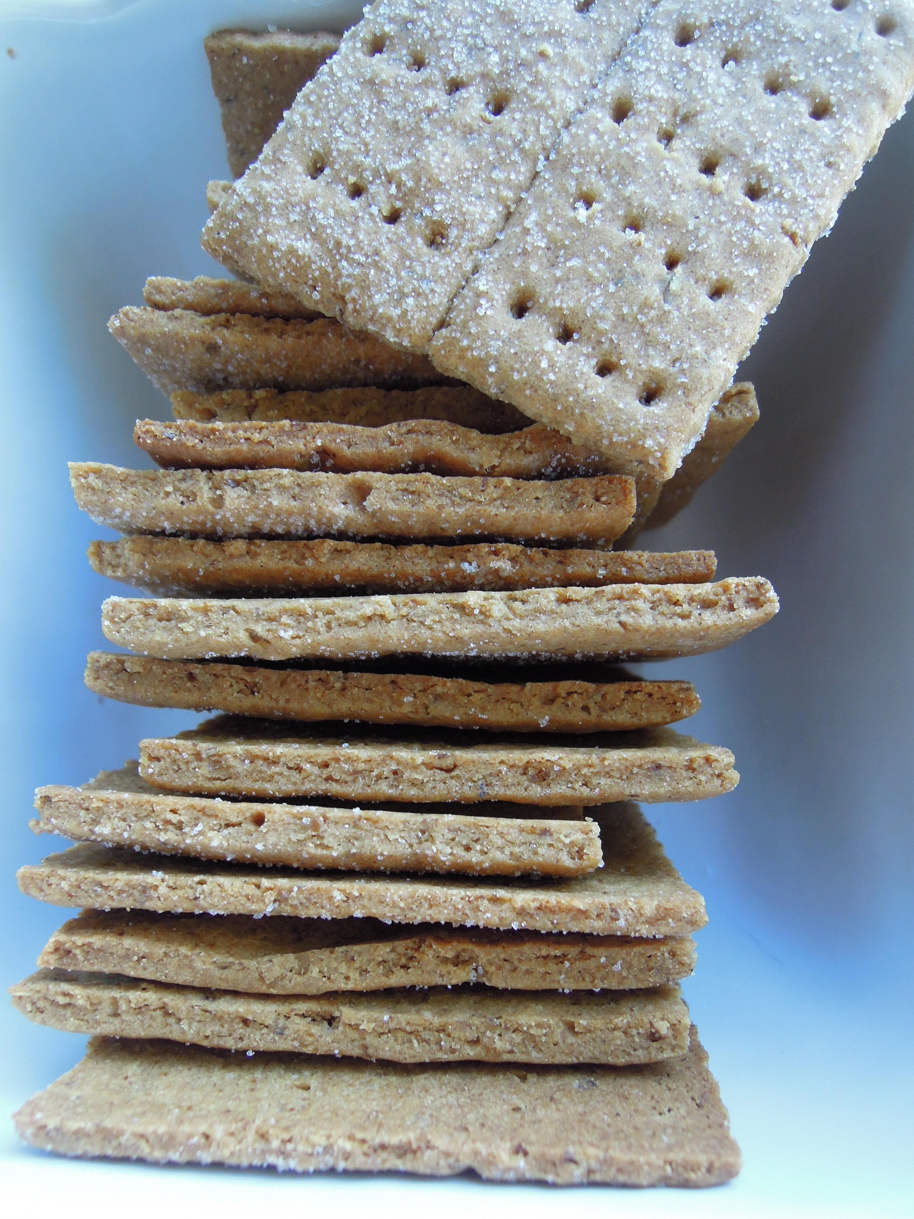 Gluten-Free Graham Crackers - Fork & Beans