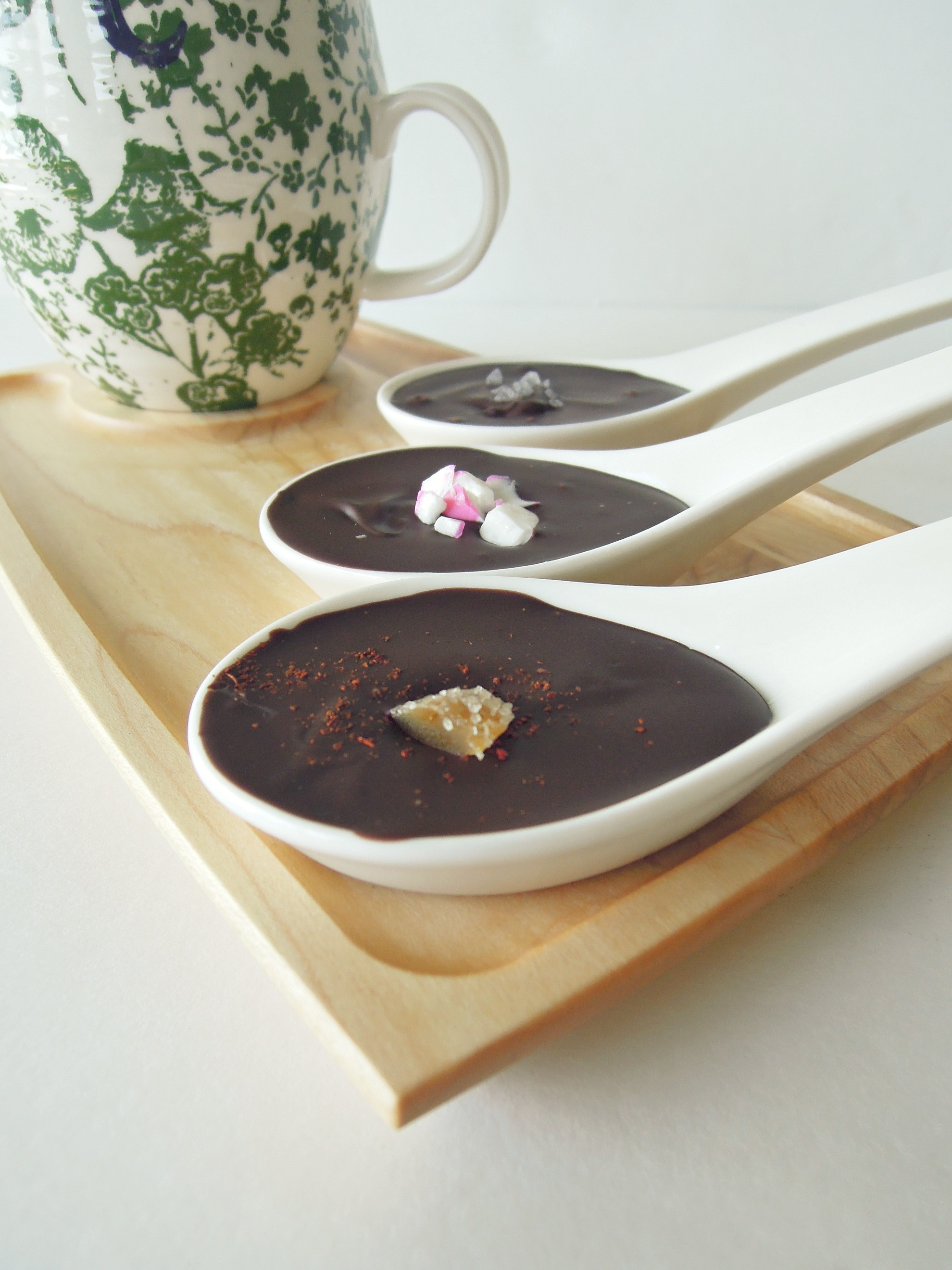 Vegan Chocolate-Covered Spoons