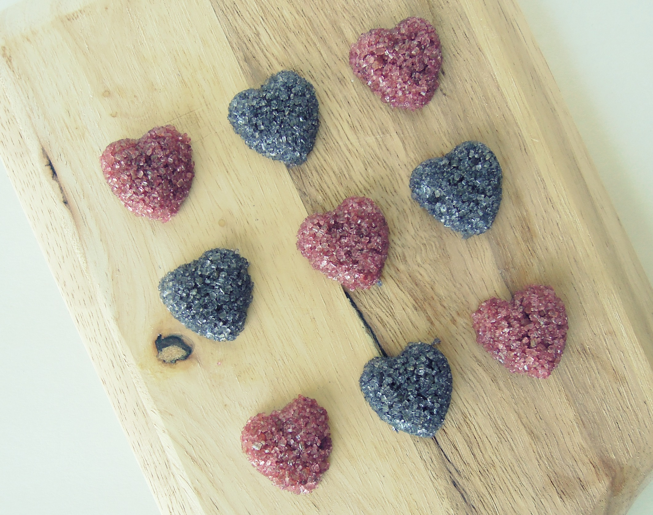 Heart-Shaped Sugar Cubes - Fork & Beans