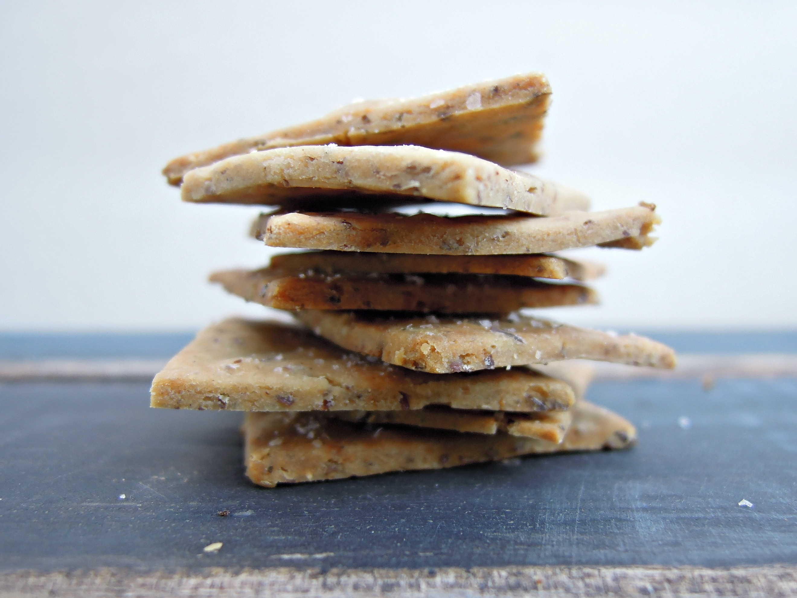 Gluten-free Wheat Thins - Fork and Beans