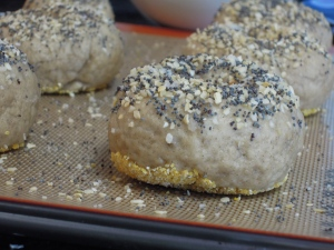 Gluten-Free Everything Bagels - Fork & Beans