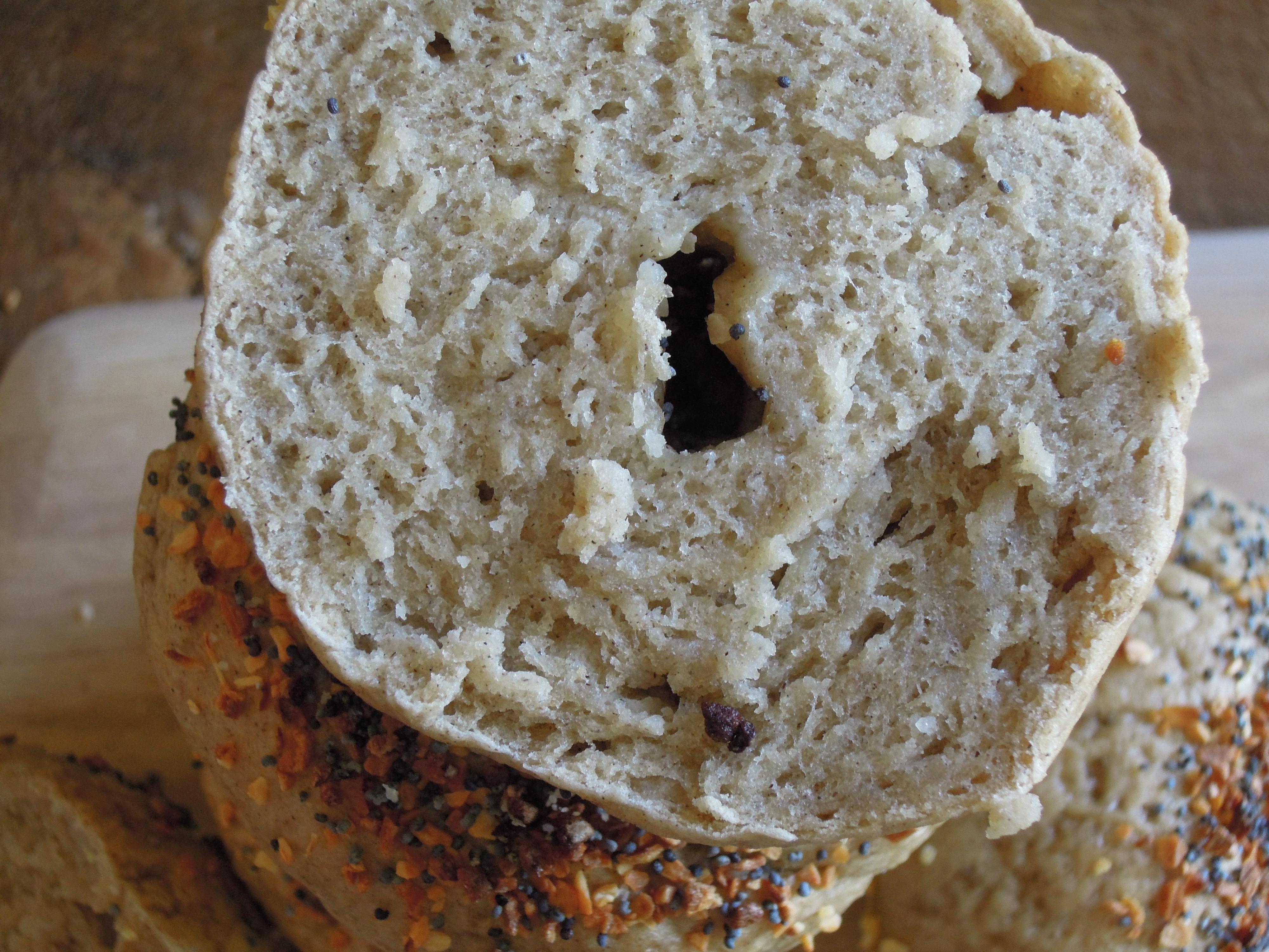 Baked Chia Bagels (GF, V) Recipe — Dishmaps