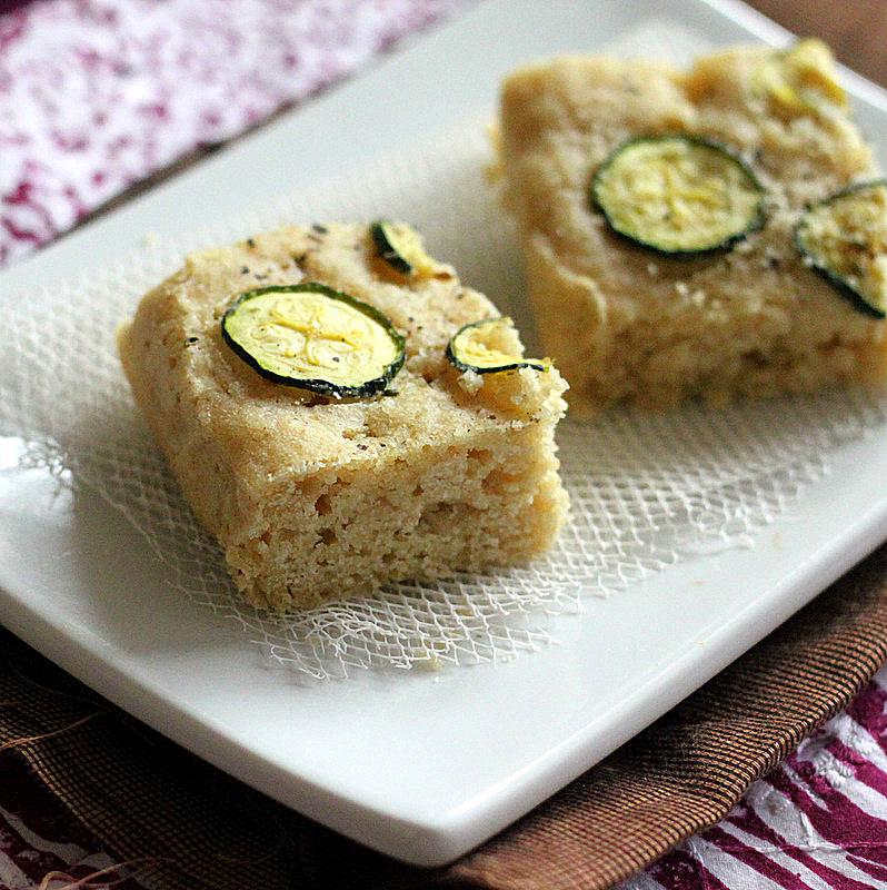 Richa's Zucchini Foccacia Bread