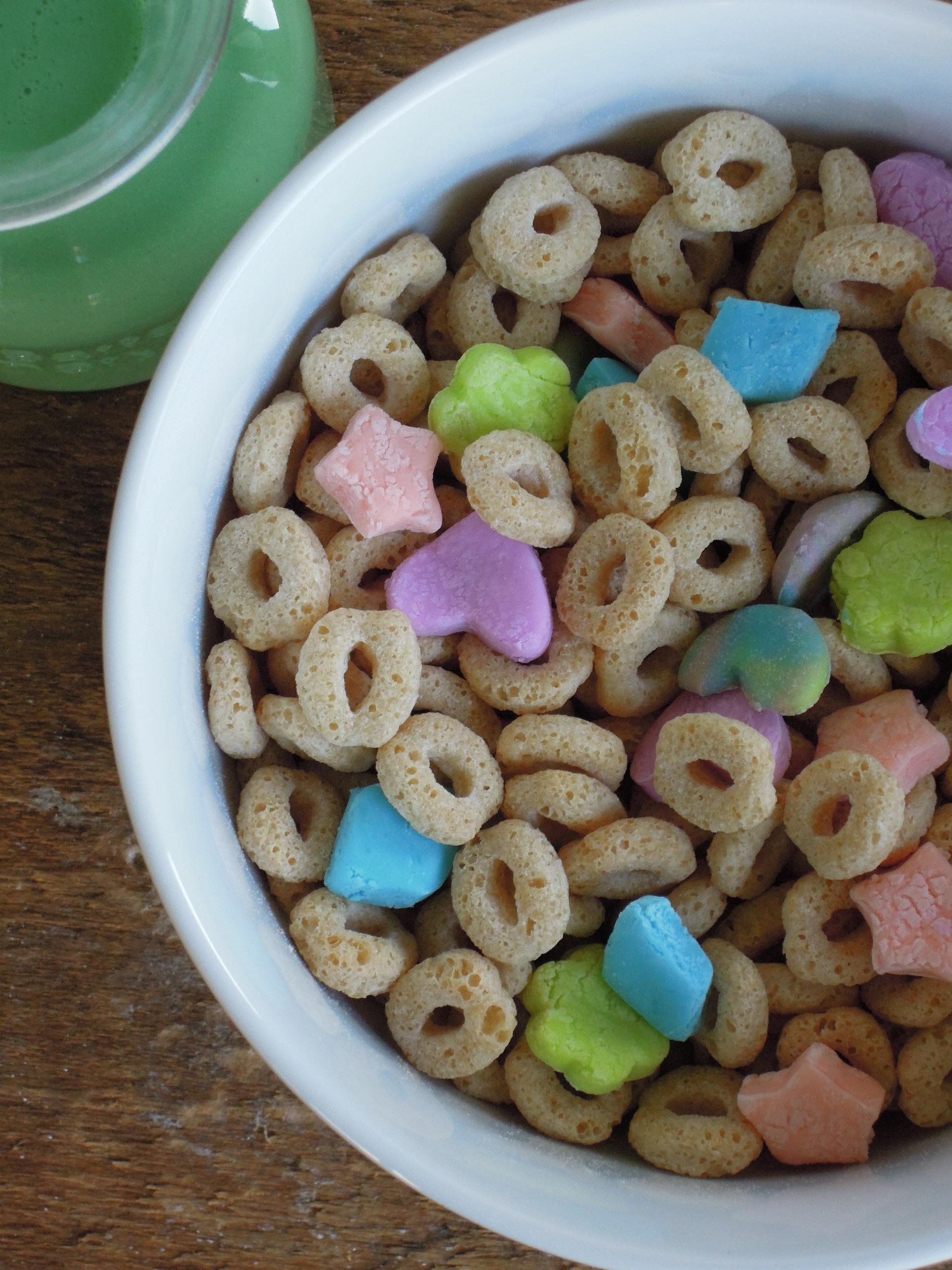 Gluten-free Vegan Lucky Charms - Fork & Beans
