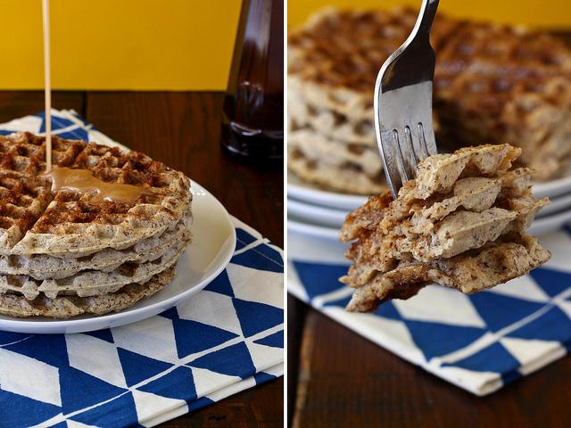 Ashlae's Cinnamon Roll Waffles