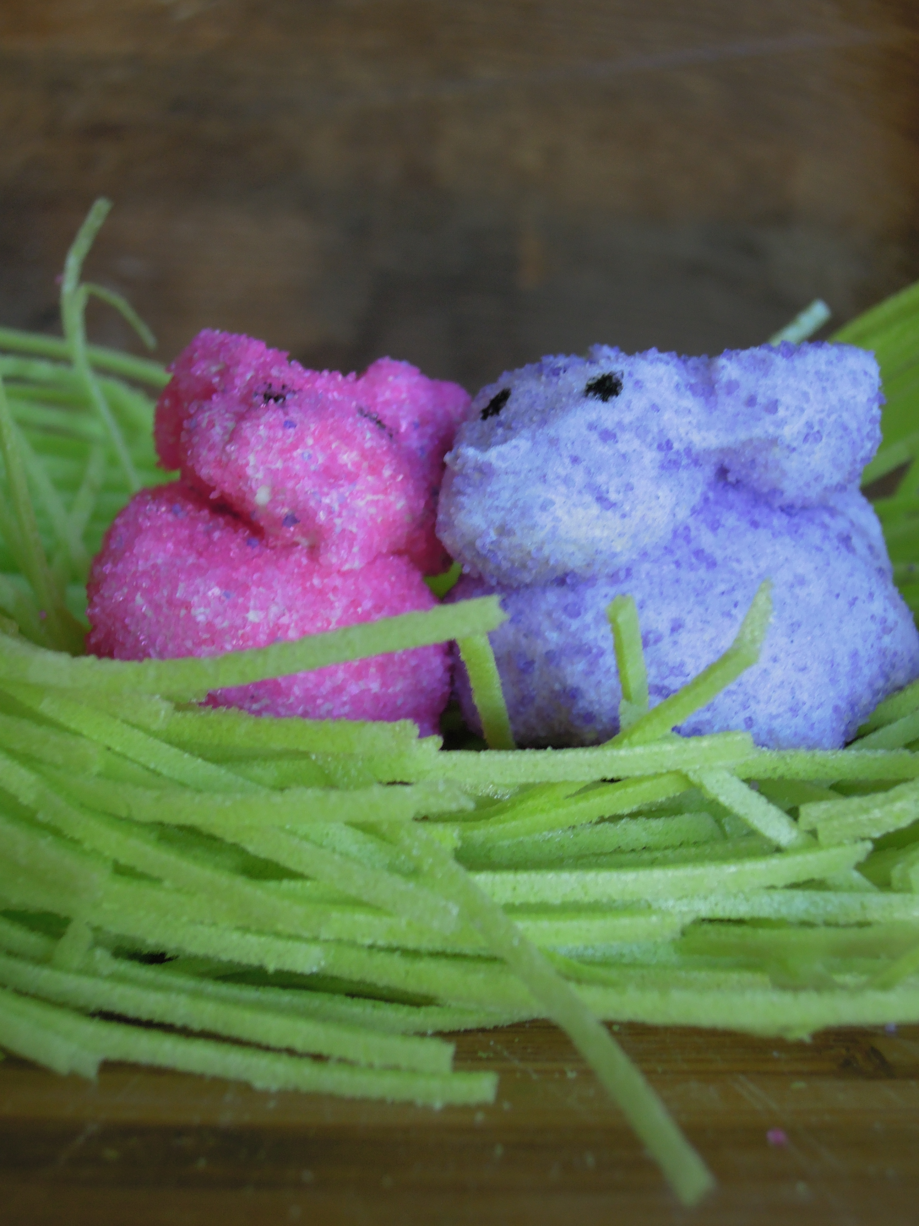 Vegan Easter Peeps - Fork and Beans