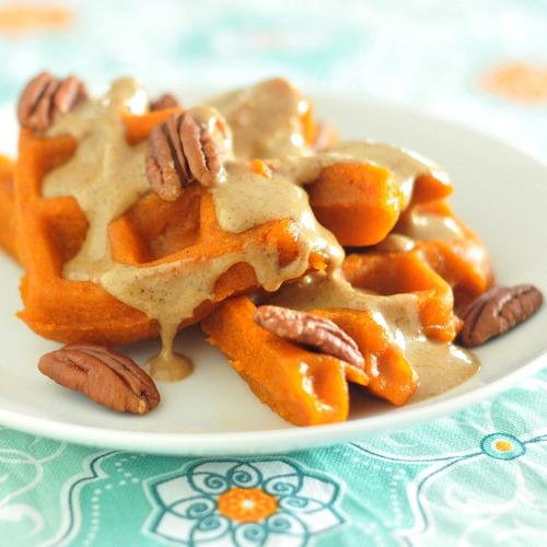 Kris' Carrot Waffles