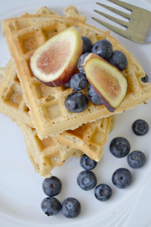 The Best Gluten-Free Vegan Waffle - Fork & Beans