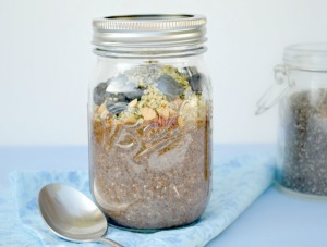 Raw Chia Seed Pudding - Fork & Beans
