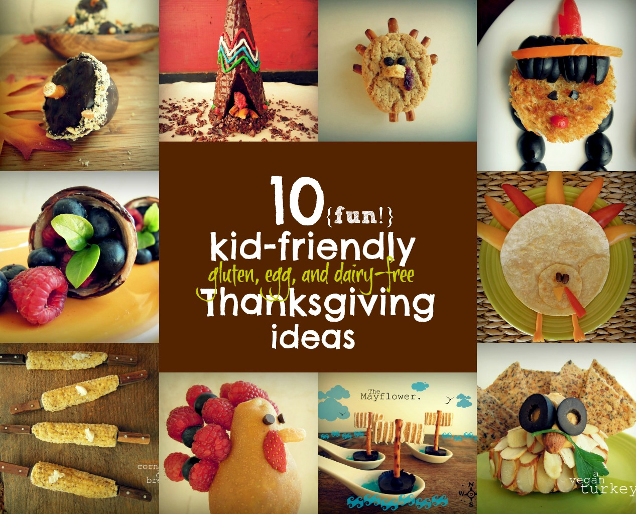 Thanksgiving decorations for kids - Corn