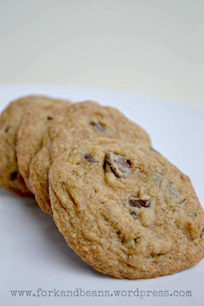 Gluten-free Vegan Chocolate Chip Cookies - Fork & Beans