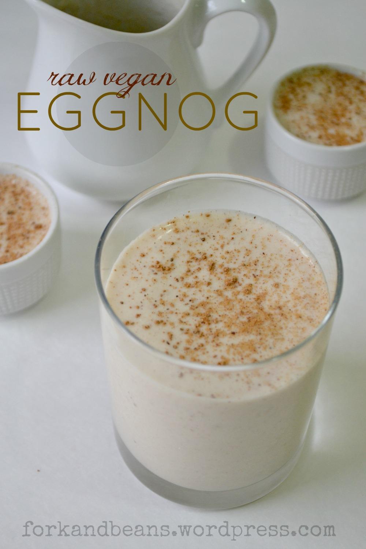 Raw Vegan Eggnog - Fork & Beans