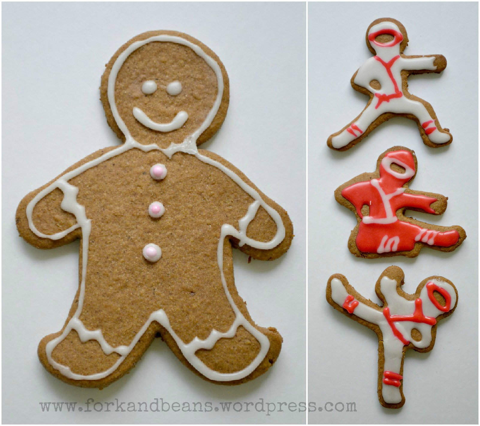 Gluten-Free Vegan Gingerbread Men - Fork & Beans